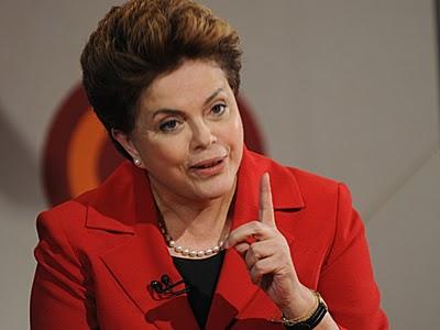 Meus melhores votos, Dona Dilma