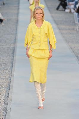 Olhar Chanel e Lagerfeld na côte d'azur !!!!! Coleção Chanel Cruise 2011.