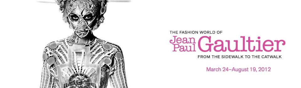 O mundo da moda de Jean Paul Gaultier – Da calçada para a passarela