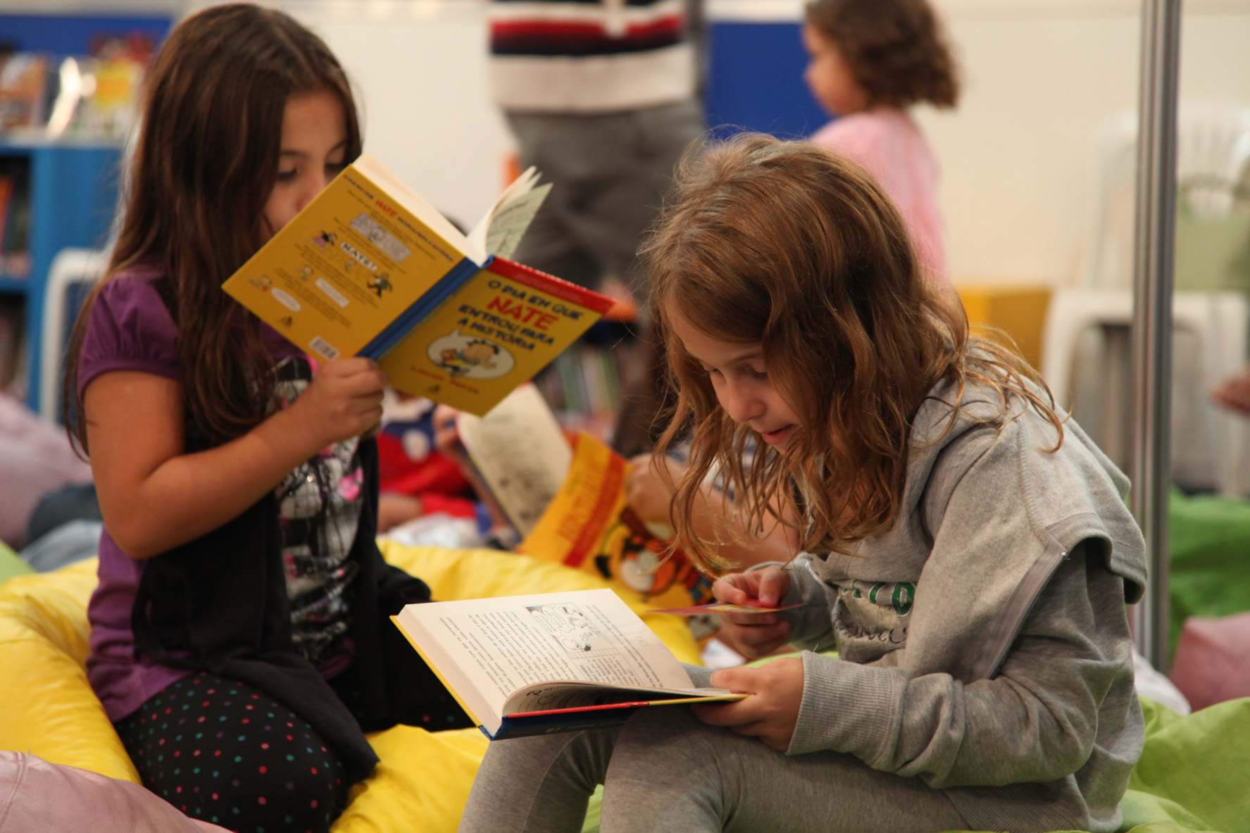 Leitura em libras