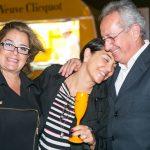 Denise Almeida, Andrea Massaroni e Airton Aragão