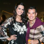 Livia Rossi e Marcelo Hicho