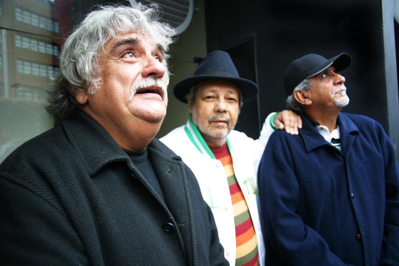 Mamão, Fernando Moraes e Alex Malheiros