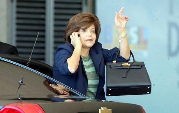 Dilma candidata e a bolsa Kelly da Hermès (2009)