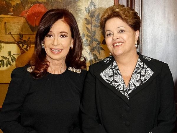 Cristina Kirchner e Dilma