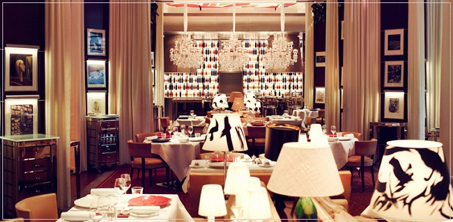 La Cuisine, o estrelado restaurante do Royal Monceau