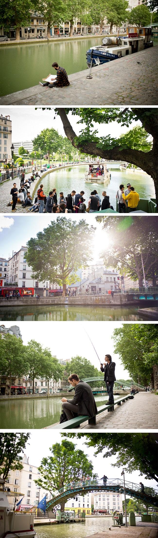 Uma visita ao Canal Saint-Martin