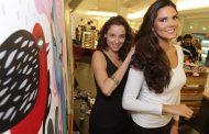 Daniella Sarahyba participa de evento no Shopping Leblon