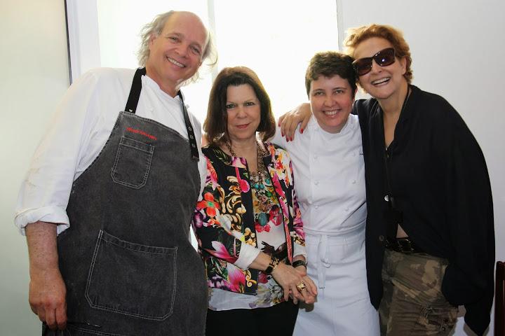 Roberta Sudbrack prepara almoço exclusivo com Francis Mallmann