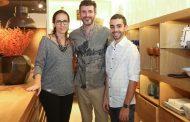 Coquetel marca parceria entre Miriam D'Aquino Amado e Duilio Sartori