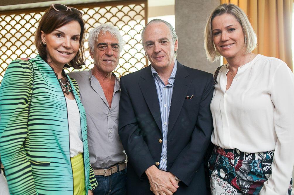 Raul Penteado promove almoço na Casa Cor Rio