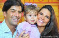 Filha de Daniella Sarahyba festeja 3 anos