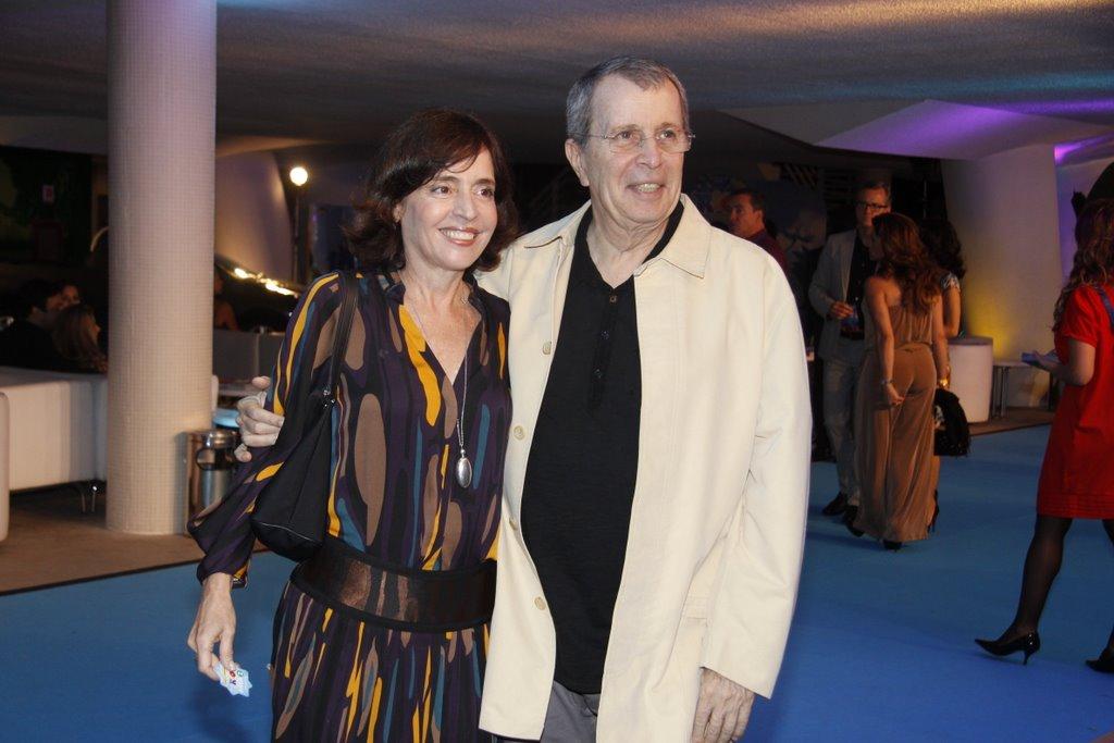 Olívia Byington e Daniel Filho