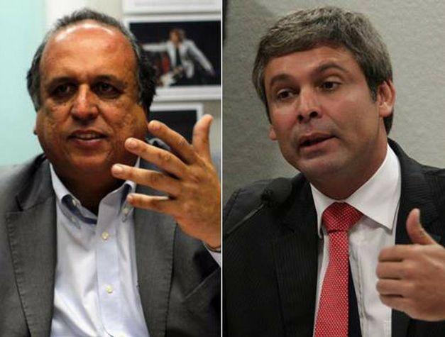 Luiz Fernando Pezão e Lindbergh Farias