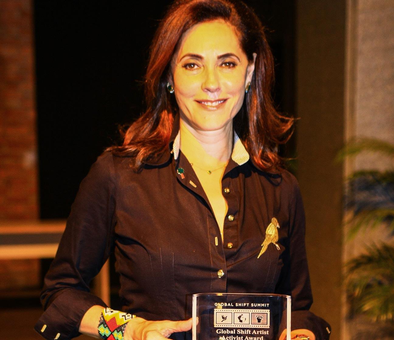 Christiane Torloni é premiada no Festival do Rio