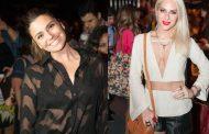 Famosos marcam presença no Fashion Rio