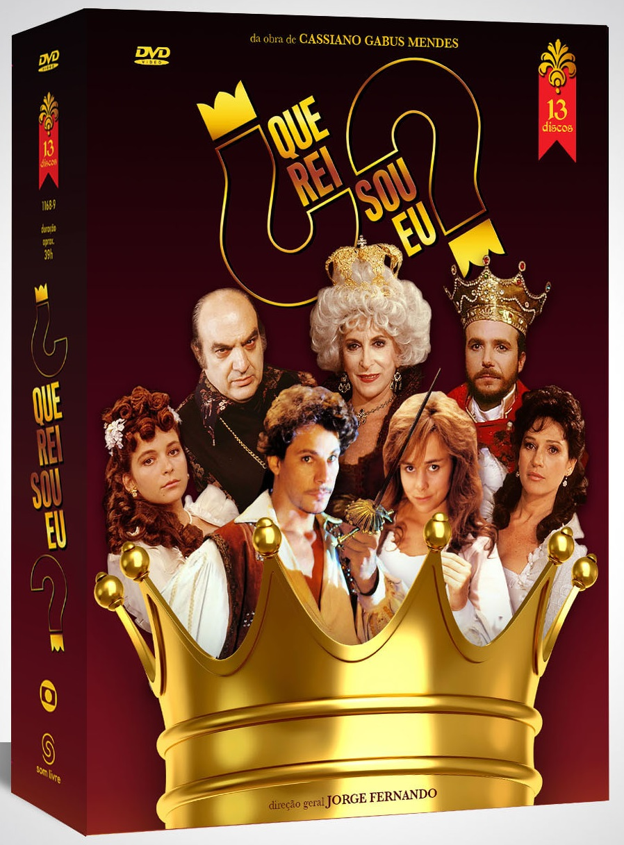 A sátira política e bem-humorada da novela 'Que Rei Sou Eu?' está de volta em DVD