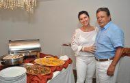 Aloysio e Joana Teixeira comemoram o ano novo