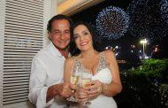 Liliana Rodriguez e Nestor Rocha fazem festa no Chopin