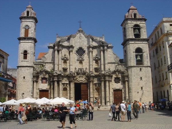 A catedral de Havana