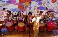 Intercâmbio percussivo da música carioca