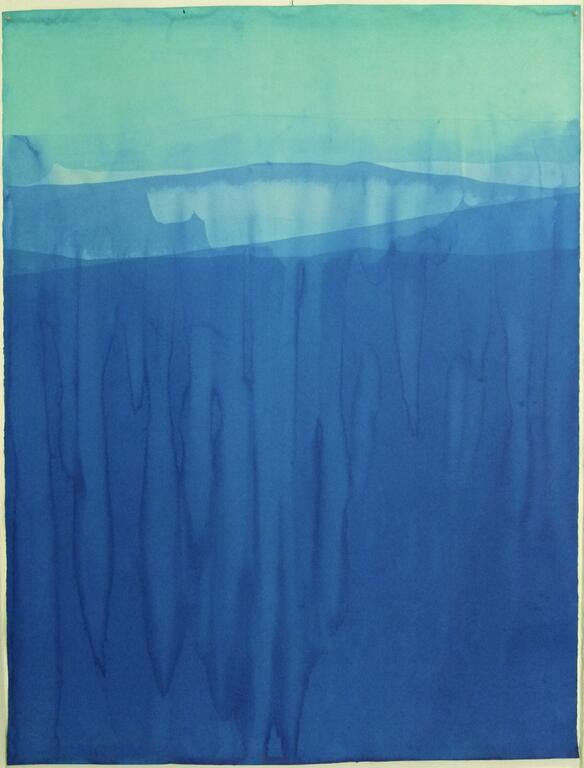 Aquarelas submersas na Mul.ti.plo Espaço Arte