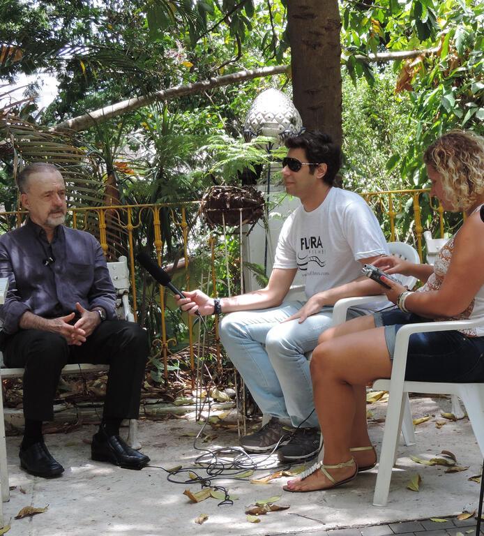Foliar Brasil Doc entrevista Ricardo Cravo Albin