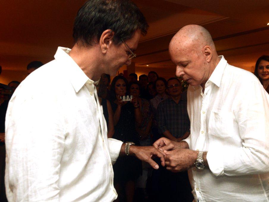 Casório de Gilberto Braga e Edgar Moura Brasil – Parte 2