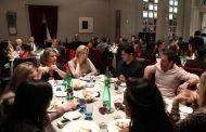Jantar para arquitetos em Milão