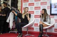 Flávia Alessandra e filha participam de bate-papo sobre moda