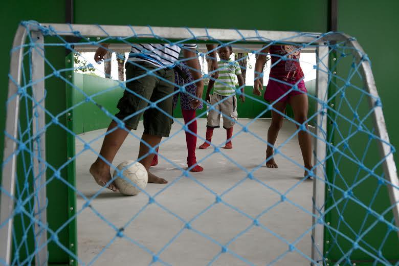Futebol no Museu da República