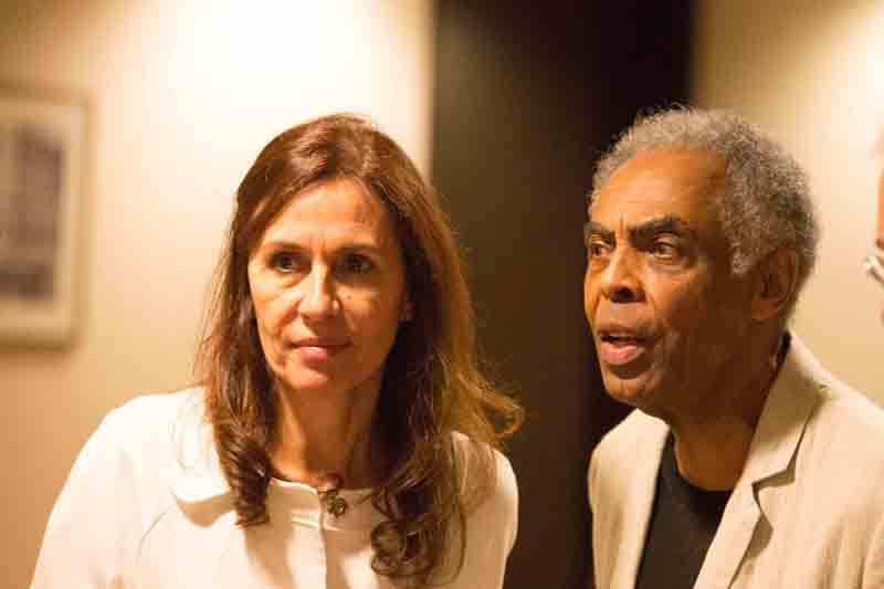 Gilberto Gil e Flora: depois da Copa, dois na estrada