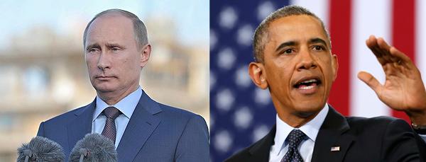 Vladimir Putin / Barack Obama