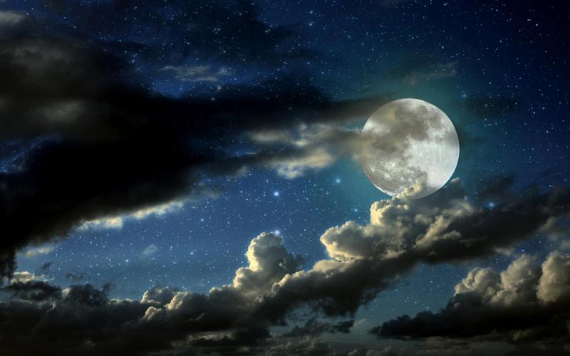 O dosha Kapha, a lua e a mulher