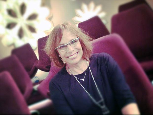 Sandra Moreyra volta ao trabalho na Globo