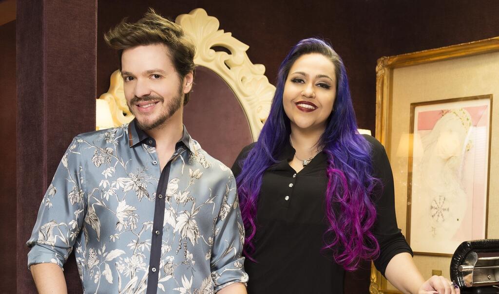 Tiago Parente e Jessica Dannemann abrem salão boutique