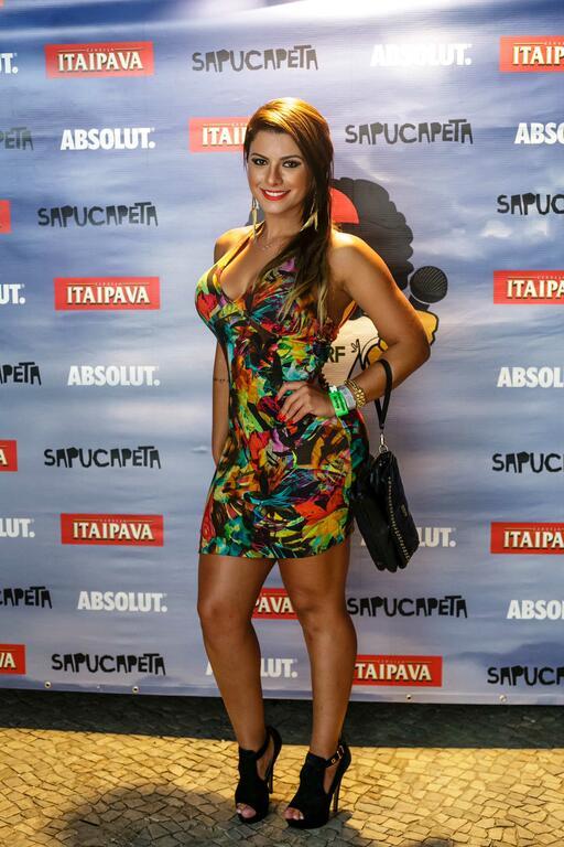 Babi Rossi curte festa no Jockey | Portal Anna Ramalho