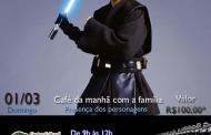 Star Wars: Café da manhã temático no Goiabeira