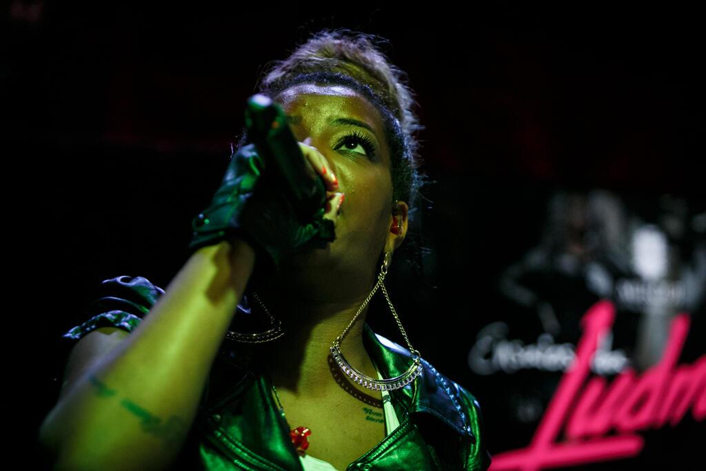 Thaila ayala curte show da mc ludimilla na lagoa portal for Miroir nightclub rio