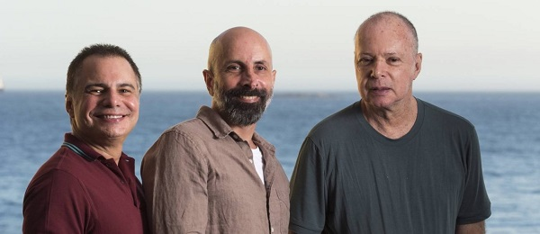 Trio da pesada: Linhares, Ximenes e Braga ( foto O Globo)
