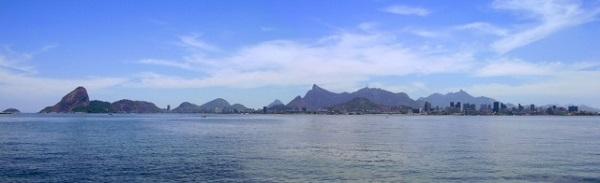 A deslumbrante Baía de Guanabara