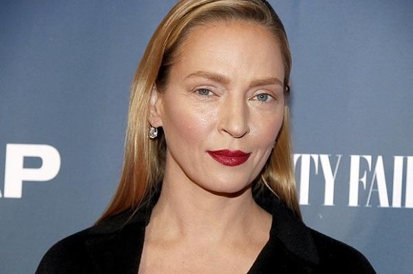 Uma Thurman depois do Botox