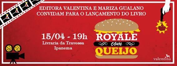 Mariza Gualano lança 'Royale com Queijo' em Ipanema