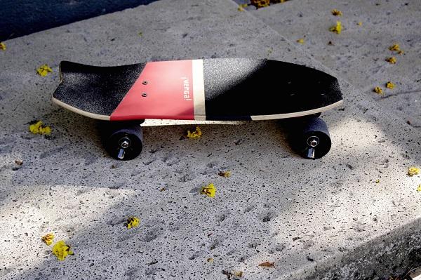 Bombinha, skate vintage