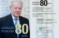 O imortal Arnaldo Niskier ganha homenagem em seus 80 anos