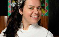 Ronaldo Canha recebe chef Janaina Rueda no Quadrucci