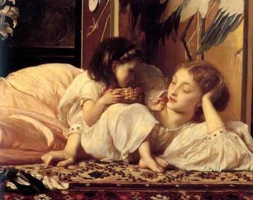 me-e-filha-comendo-cerejas-pintor-leighton-na-tela-repro-13880-MLB236089330_3025-O