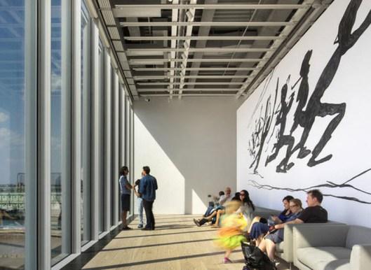 O novo Whitney Museum em NYC