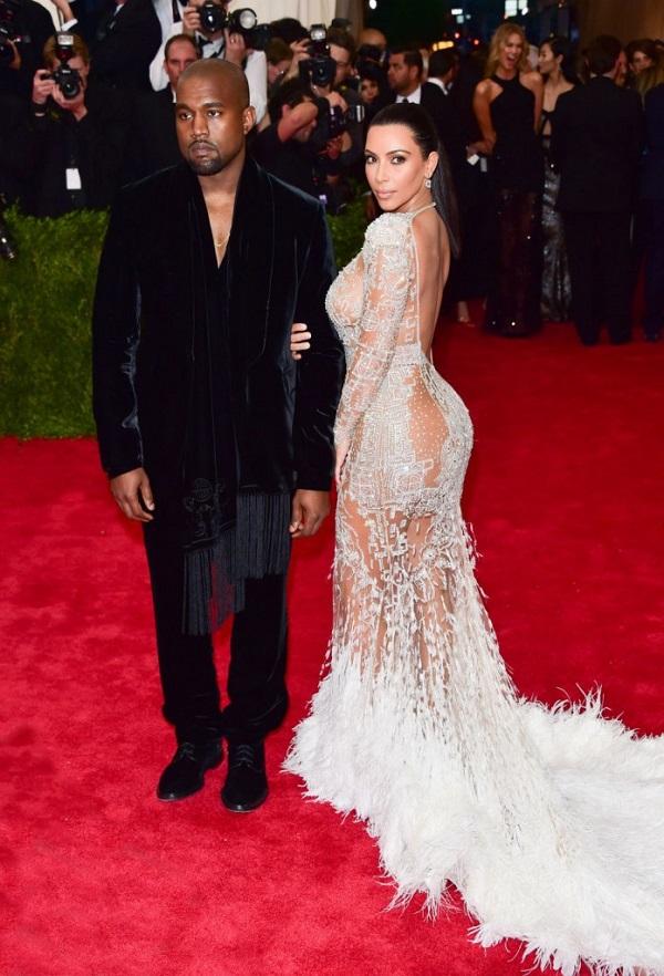 Kim Kardashian com Roberto Cavalli
