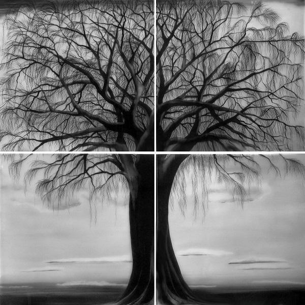 árvore, linhas sutis